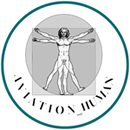 Aviation human logo